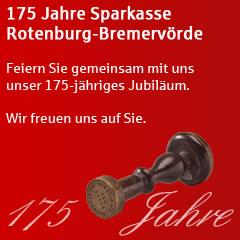 Mit freundlicher Unterstützung der Sparkasse Rotenburg-Bremervörde